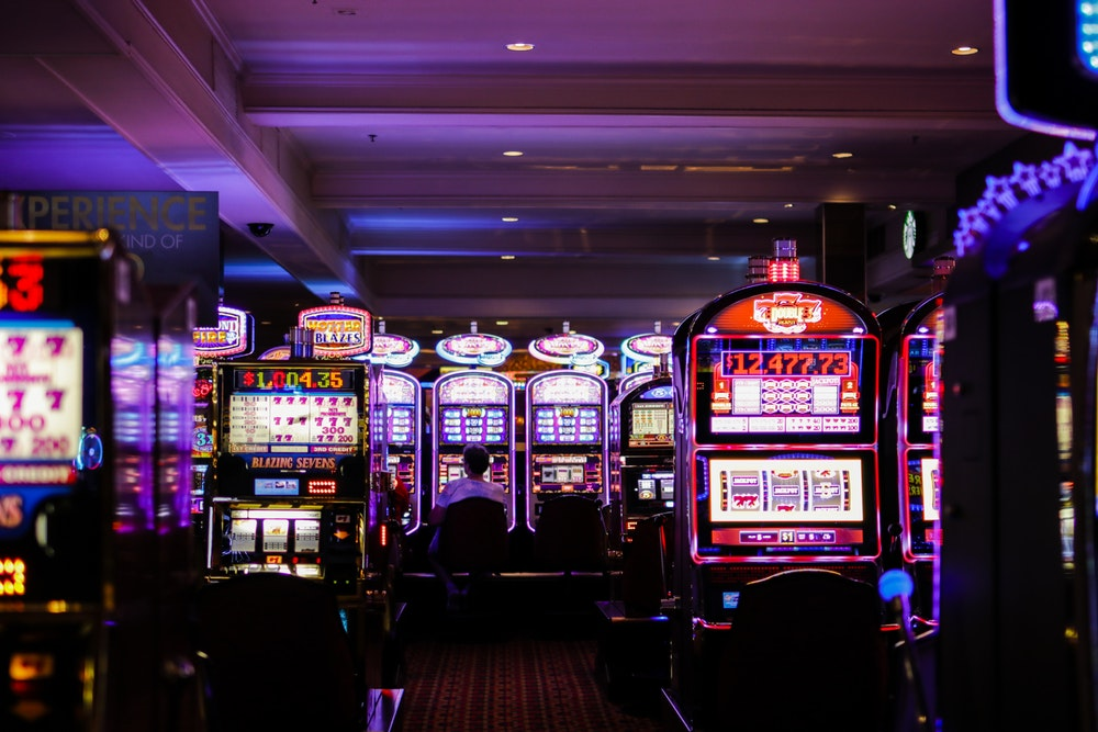 What are the slot machine games in the casino?